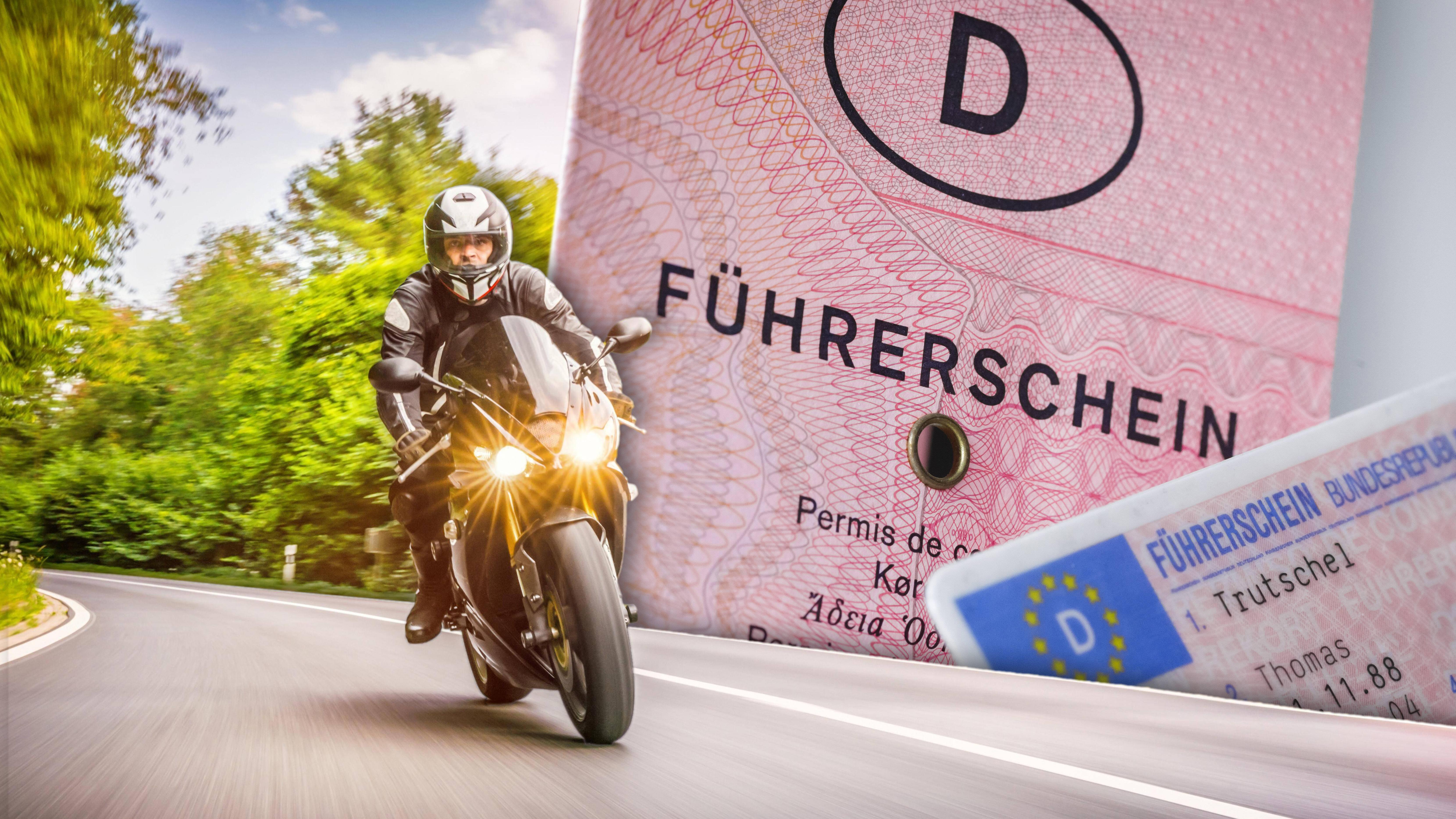 auto führerschein motorrad fahren